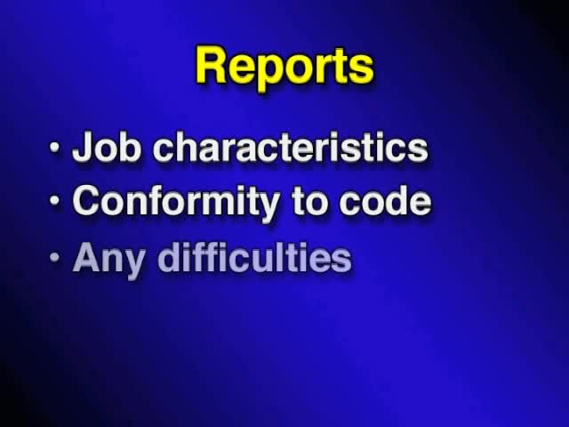 01. Welding inspector responsibilities related to discontinuities and defects