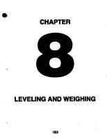 Aerostar ATA-08-Leveling and Weighing