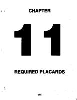 Aerostar ATA-11-Required Placards