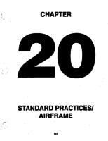 Aerostar ATA-20-Standard Practices / Airframe