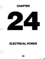 Aerostar ATA-24-Electrical Power