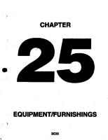 Aerostar ATA-25-Equipment/Furnishings