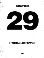 Aerostar ATA-29-Hydraulic Power
