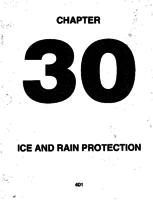Aerostar ATA-30-Ice and Rain Protection