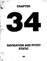 Aerostar ATA-34-Navigation and Pitot Static