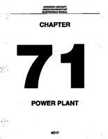 Aerostar ATA-71-Power Plant
