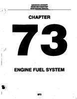 Aerostar ATA-73-Engine Fuel System