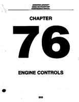 Aerostar ATA-76-Engine Controls